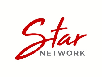 Star Network logo design