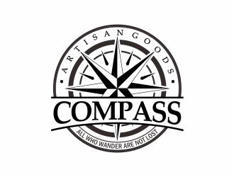 COMPASS logo design by mutafailan