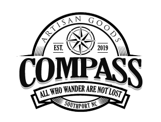 COMPASS logo design by kunejo