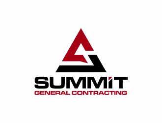 Summit General Contracting logo design