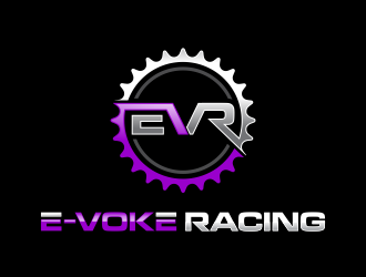 E-VOKE RACING  logo design