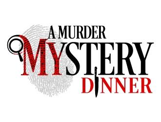 A Murder Mystery Dinner logo design
