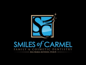 Smiles of Carmel logo design