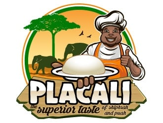 PLACALI. Superior Taste of Shiphrah and Puah logo design