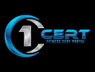 1Cert logo design