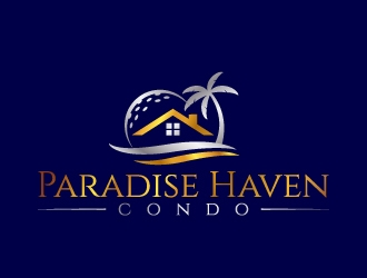 Paradise Haven Condo logo design winner