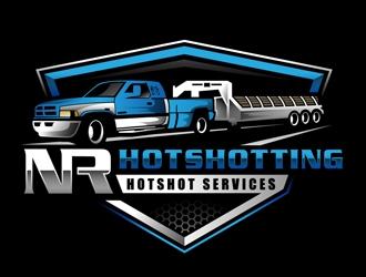 NR hotshotting logo design