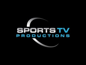 Sports TV Productions logo design