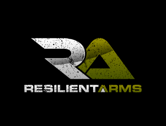 Resilient Arms logo design