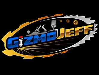 GizmoJeff logo design