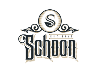 Schoon logo design