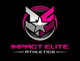 Impact Elite Athletics logo design winner