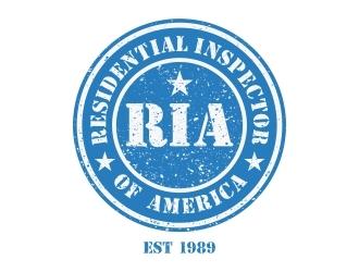 Residential Inspector of America logo design