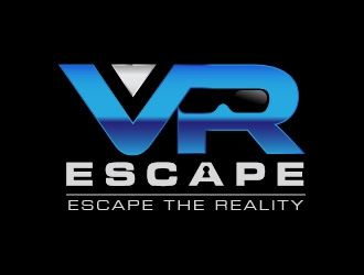 VR Escape logo design