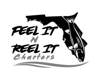 Feel It N Reel It Charters logo design winner