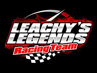 Leachy's Legends Racing Team logo design