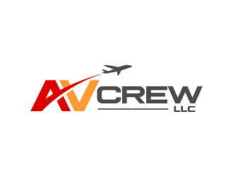 AVcrew LLC logo design