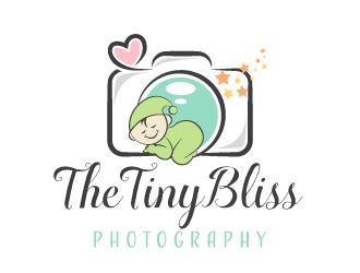 The TinyBliss Photography logo design