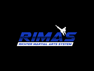 R I M A S - Richter Martial Arts System logo design