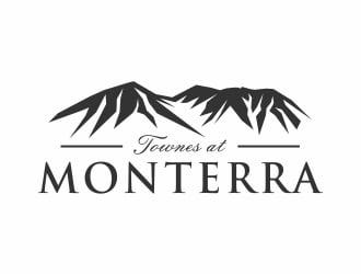Townes at Monterra logo design