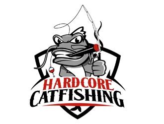 Hardcore Catfishing logo design winner