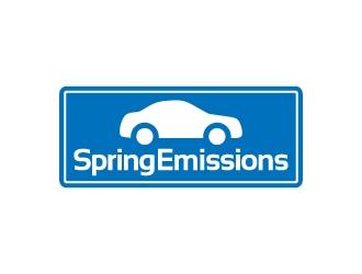 Spring Emissions logo design winner