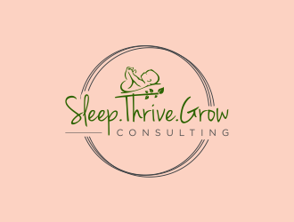 Sleep.Thrive.Grow Consulting logo design