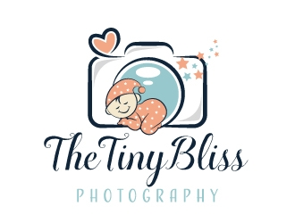 The TinyBliss Photography Logo Design