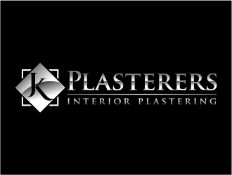 JK Plasterers. residential and commercial  logo design