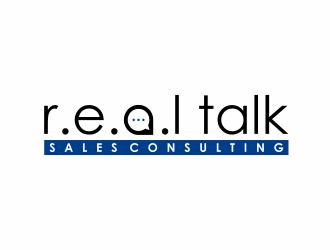 R.E.A.L Talk Sales Consulting logo design