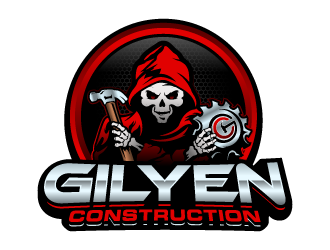 Gilyen Construction logo design