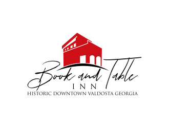 Book and Table Inn logo design