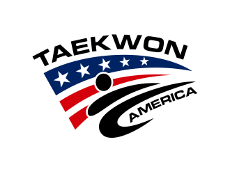 Taekwon America logo design