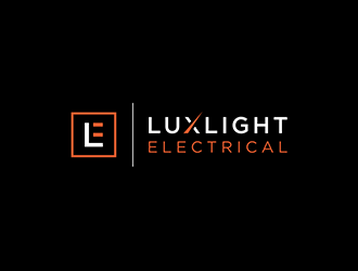 Luxlight Electrical logo design winner