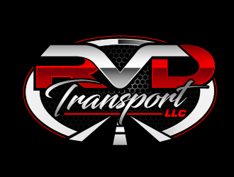 RVD Transport LLC logo design