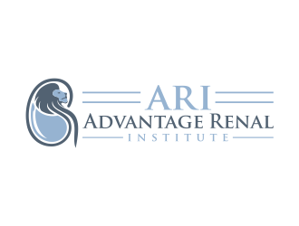 ADVANTAGE RENAL INSTITUTE logo design