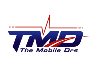 The Mobile Drs logo design