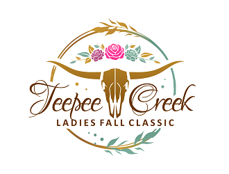 Teepee Creek Ladies Fall Classic logo design