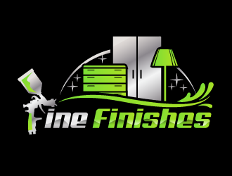Fine finishes logo design