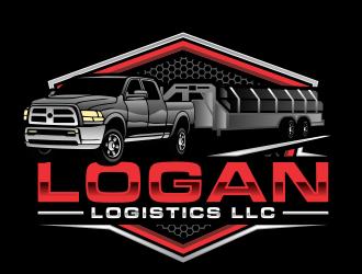 LOGAN LOGISTICS LLC logo design winner