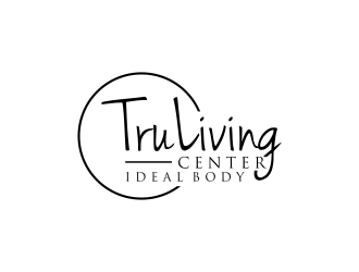 TruLiving Center logo design