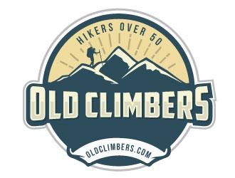 Old Climbers logo design winner