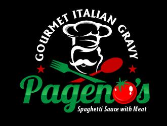 Pagenos Gourmet Italian Gravy logo design winner