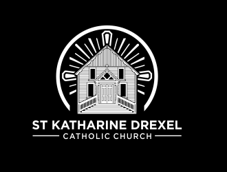 St Katharine Drexel Catholic Church logo design