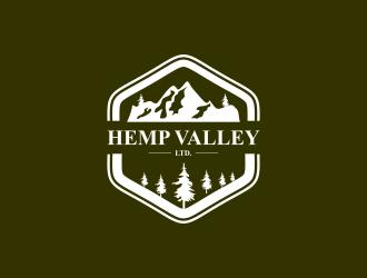 Hemp Valley Ltd. logo design by haidar