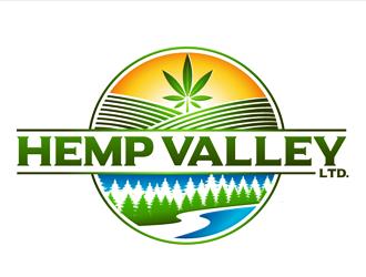 Hemp Valley Ltd. logo design by megalogos
