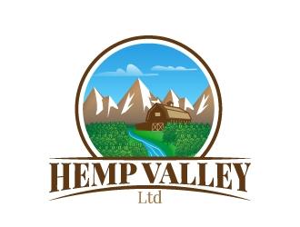 Hemp Valley Ltd. logo design by kasperdz