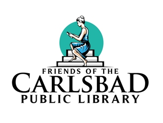 Friends of the Carlsbad Public Library logo design