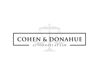 Cohen & Donahue Attorneys at Law logo design