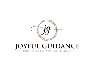 Joyful Guidance - A Cognitive Behavioral Therapy Group logo design